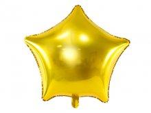 """Folinis balionas """"Žvaigždė"""", auksinė (48cm)"""