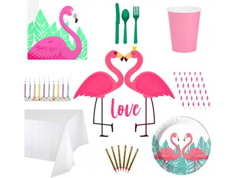 """Rinkinys """"Flamingai"""" ( 8 asm.)"""