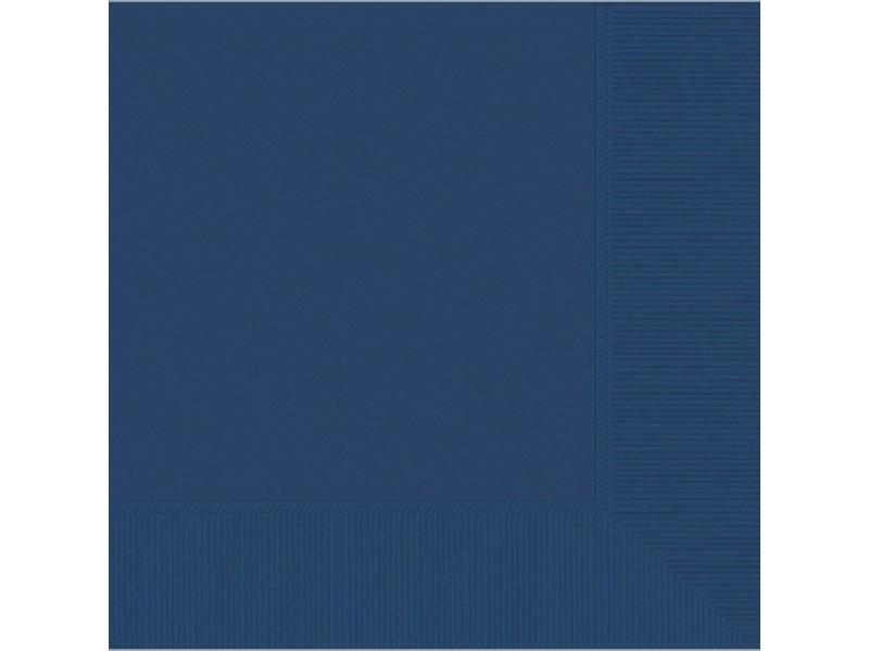 Servetėlės, tamsiai mėlynos ( 20vnt/33x33cm)