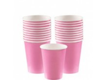 Puodeliai, rožiniai (20vnt/266ml)