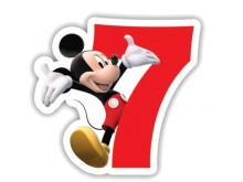 """Žvakutė """"Peliukas Mikis 7"""""""