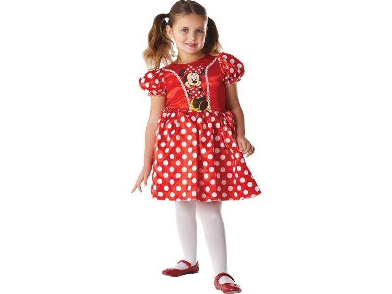 Raudonos pelytės Minės suknelė