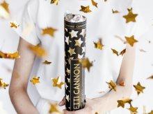 """Iššaunantis konfeti, """"Aukso žvaigždutės"""" (40cm)"""