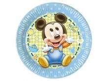"""Lėkštutės """"Mažylis peliukas Mikis"""" (20cm/8vnt)"""