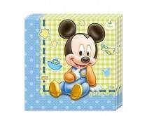 """Servetėlės  """"Mažylis peliukas Mikis"""" (20vnt/33x33)"""